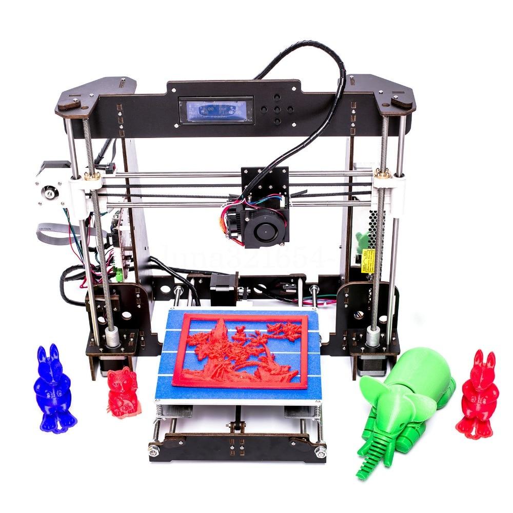 A8 3D Printer Reprap Prusa MK8 Extruder High Precision Desktop 3d printer