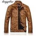 New arrive brand motorcycle leather jackets men ,men's leather jacket, masculina,mens leather jackets,men coats AL45