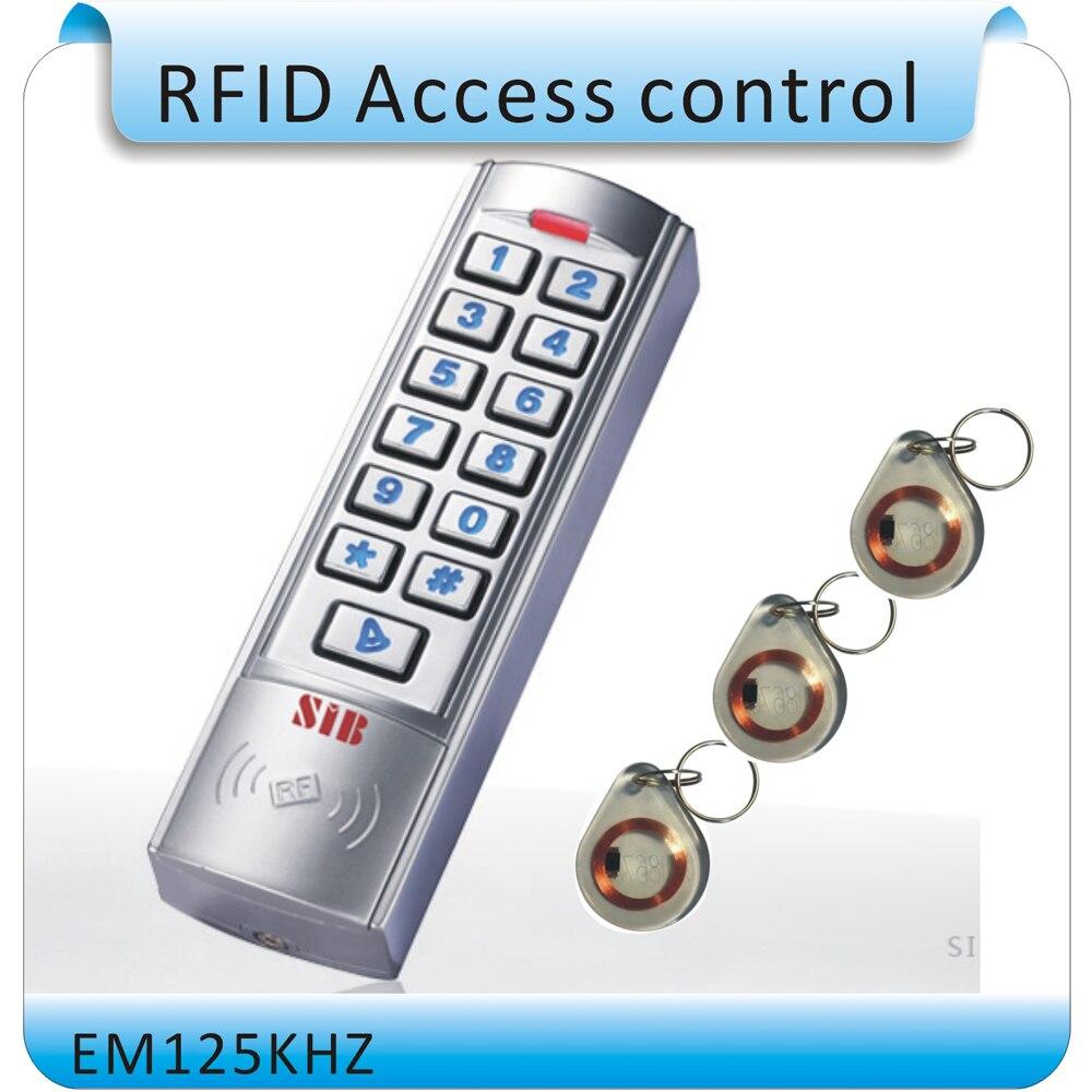 2015 Neueste Arbeitsfrequenz Von 125 Khz Rfid Em Card Access Control System, Leuchtende Digitale Tastatur + 10 Stücke Karten Moderne Techniken