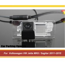 цена на Car Rear View Reverse Parking Camera For Volkswagen VW Jetta MK6 / Sagitar 2011 2012 2013 2014 2015 AUTO HD SONY CCD III CAM