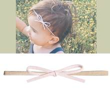 baby headbands headwear girls bow knot hairband head band infant newborn Toddlers Gift tiara hair accessories clothes