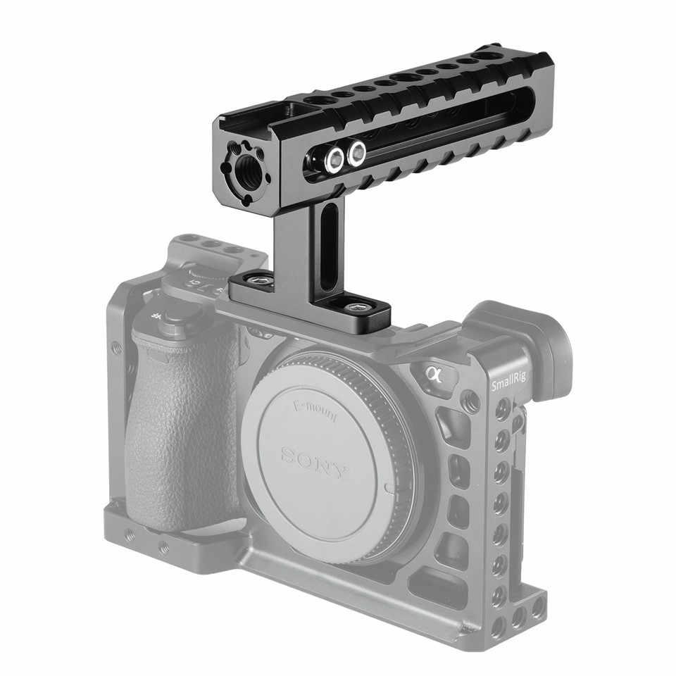SmallRig manija superior Universal de la cámara con los puntos de montaje soportes de zapatos para cámaras de vídeo jaulas luces LED micrófonos-1984
