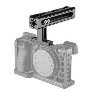 Image 5 - SmallRig العالمي كاميرا أعلى مقبض مع تصاعد نقاط حذاء يتصاعد للفيديو كاميرا أقفاص LED أضواء الميكروفونات 1984