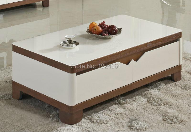 Современные Кофе таблице Cam sehpalar Muebles мез реального зеркальные Мебель светодиодные панели деревянный Кофе с рабочего стола новая модель Чай... ...