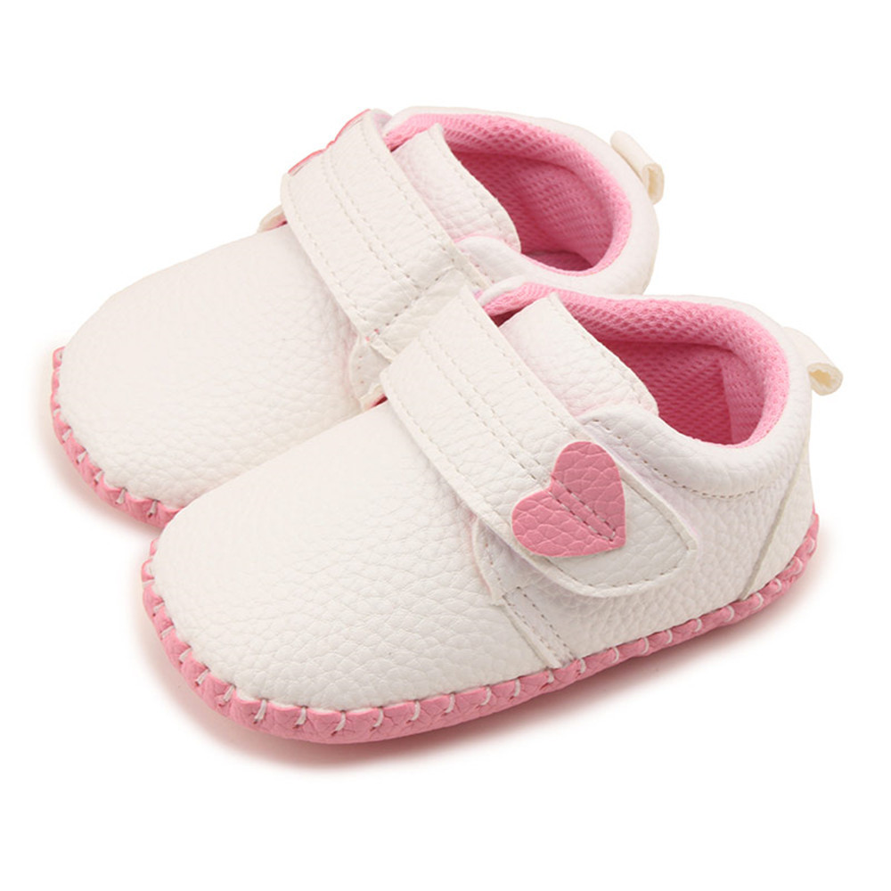 Spring PU Leather Baby Moccasins Crib Shoes boys and girls Baby Shallow Slip-on First Walkers Bebe Shoe for 0-18M