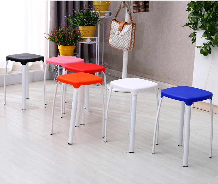 Living room coffee stool Garden Party Christmas Plastic Stool free shipping blue red green yellow color party chair green color garden ashtons family resort stool free shipping