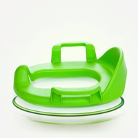 Mambobaby Baby Toilet Trainer Seat Plastic Toilet Potties Chair Thickened Safety Infant Assistant Toilet Training Chair