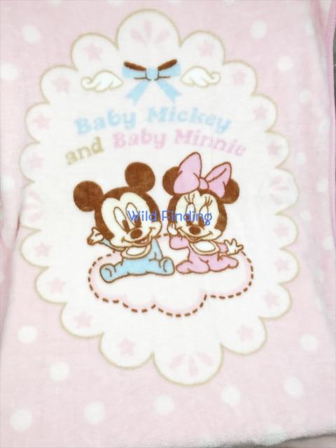 Bebé Mickey Mouse Bebé Minnie Rosa Hojas de Coral Polar Manta ...