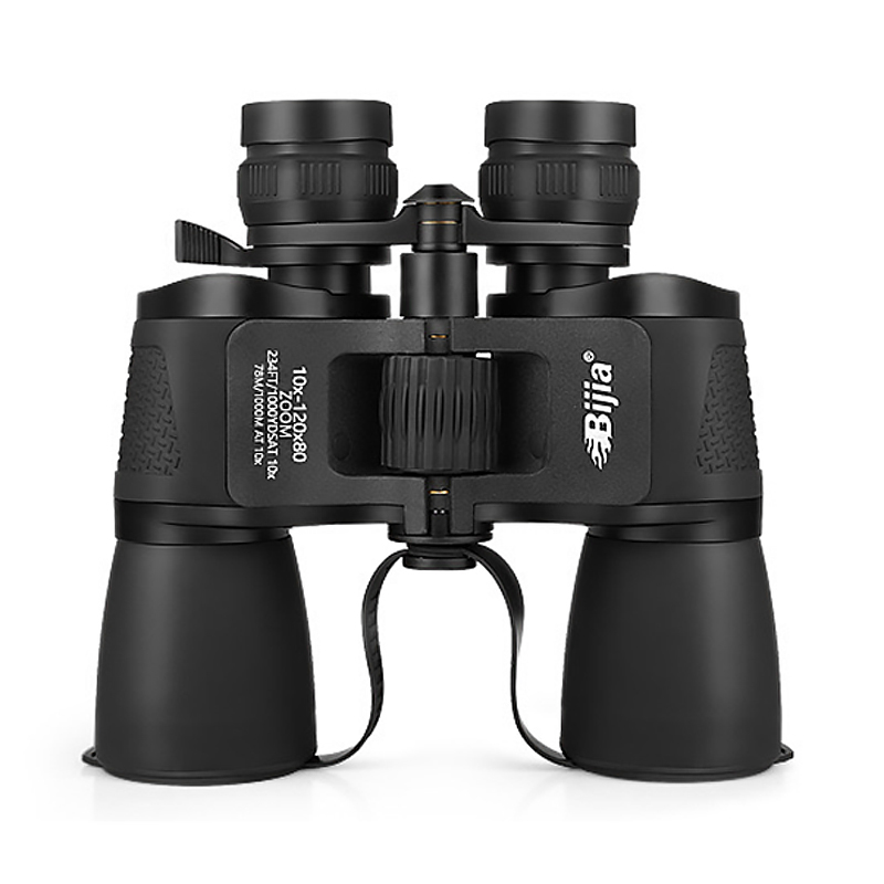 10X 120X80 Binoculars Night Vision Waterproof Hunting High Definition Camping Telescope Powerful Binocular Outdoor Rangefinder recommend folding binoculars 10x magnifications binoculars telescope non infrared night vision telescope macrobinocular 10x32