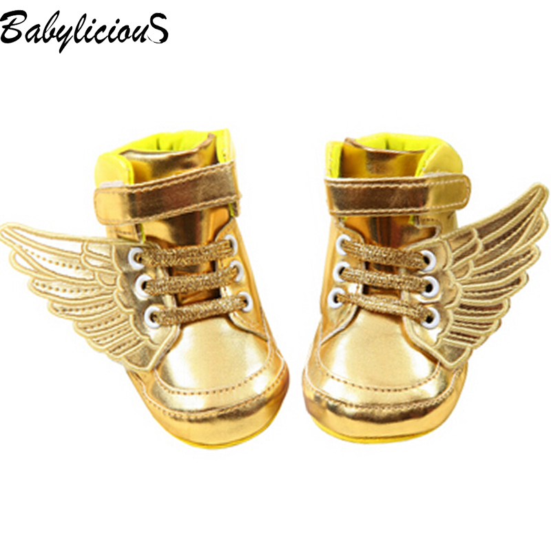 Aliexpress.com : Buy Wings Leather Winter Warm Gold Children's ...