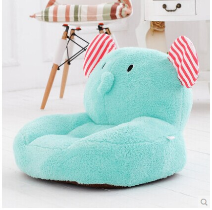 about 54x45cm cartoon elephant plush toy tatami plush toy soft sofa floor seat cushion doll birthday gift t8909 about 54x45cm cartoon monkey plush toy zipper closure tatami soft sofa floor seat cushion brown colour birthday gift t8954