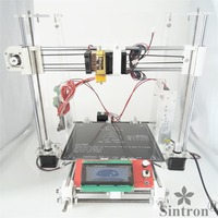 [SINTRON] High Accuracy DIY 3D Printer full complete Kit for Reprap Prusa i3 ,MK3 heatbed,LCD 2004 , MK8 extruder