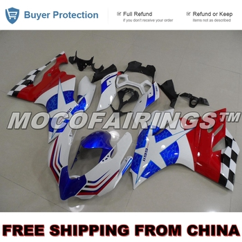 2012 2013 1199 899 Panigale Fairings Body For Ducati Corse Motorcycle Injection ABS Fairing Plastic Mold Kits STAR CUSTOM DESIGN