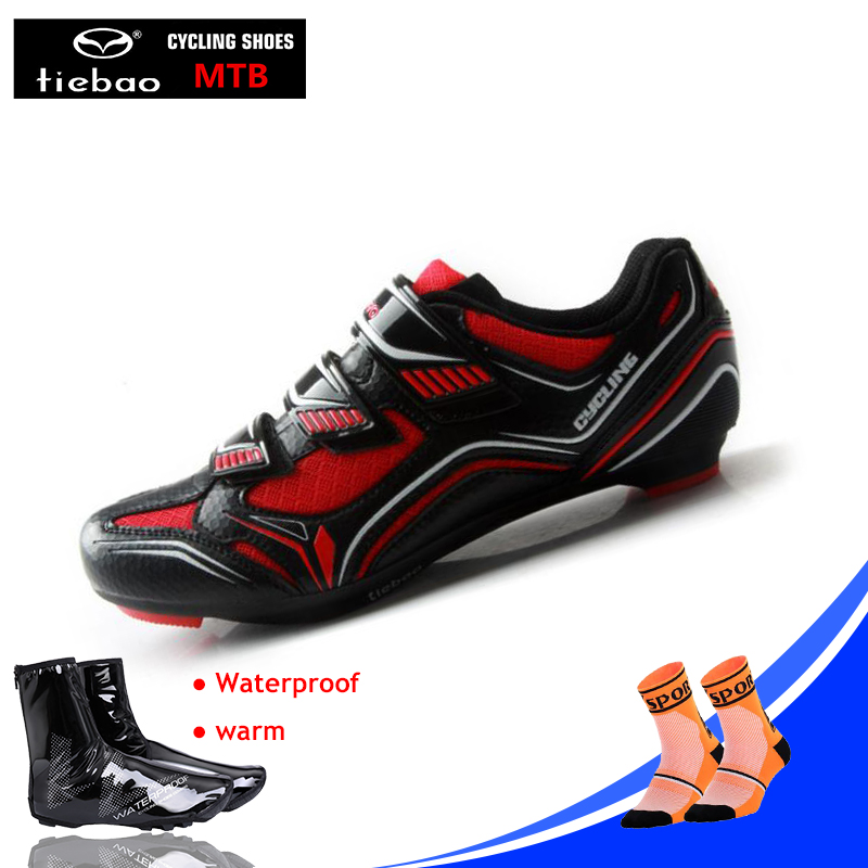 Tiebao Cycling Shoes Men Sneakers Road Bike Sapato Masculino Chaussure Homme Athletic Zapatillas Riding Bicycle Superstar Shoes Squeeze Toys