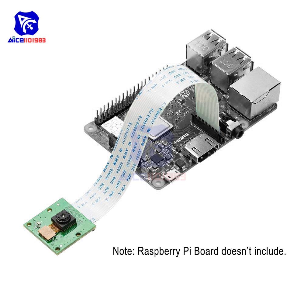 Diymore Raspberry Pi 3 4 B + Камера 5 Мп Камера модуль OV5647 веб-камеры Совместимость Raspberry Pi 3 Model B + Плюс/3 /2