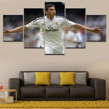 Abstract Poster 5 Panel Sports James Rodriguez Unique Gift Pictures Home Decoration Paintings On Canvas And Prints The Wall