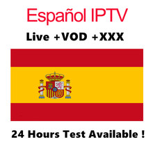 IPTV espagne espa a ESPANA DE UN ANO 1 an m3u Abonnement moto pour x96mini Htv Android TV Box Android Box Enigma2 Smart TV PC 5(China)