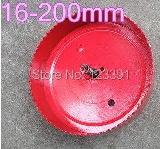 Hot sale 1pc190*100mm high quality M42 Bi-metal hole Saw steel wood iron plastic hole saw opener underreamer pipeline perforator