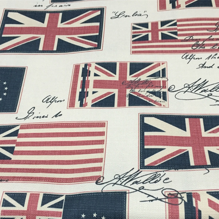 100x140cm union jack uk flag vintage fabrics for - Telas para sofa ...