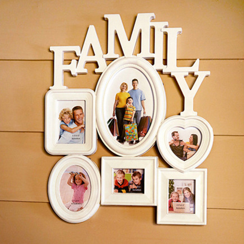 TH Keluarga Tema Kombinasi Foto Dinding Bingkai Foto ...