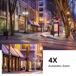 Image 5 - 5MP POE Mini PTZ IP Camera Dome H.265 Indoor 2.8 12mm 4X Optical Zoom IR 45M P2P CCTV Security Onvif Waterproof G.Craftsman