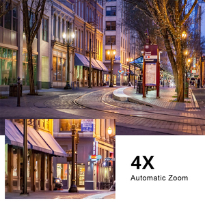 Image 5 - Telecamera IP POE Mini PTZ da 5mp Dome H.265 Indoor 2.8 12mm 4X Zoom ottico IR 45M P2P CCTV sicurezza Onvif impermeabile G. Artigiano