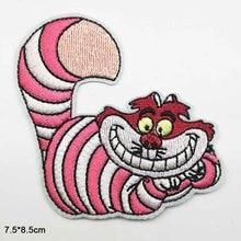 Животные мультфильм толстый кот Прекрасный Утюг на вышитые одежды патчи для одежды наклейки одежда аксессуары