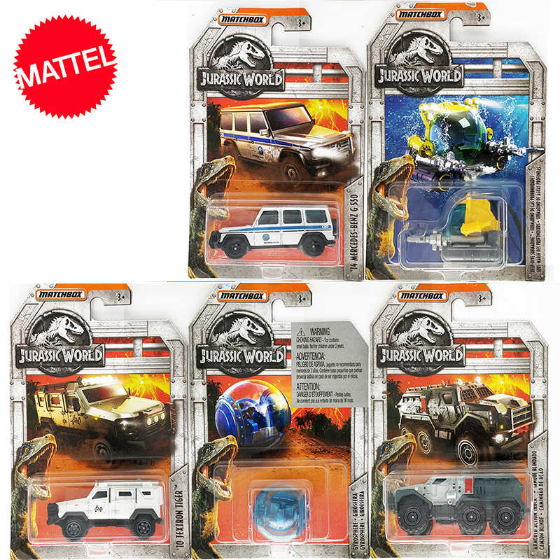 Original Matchbox Toys 1:64 Dinosaur World Limited Edition Cars 14 Mercedes-Benz G 550 Diecast Vehicle Collection Alloy Race Car