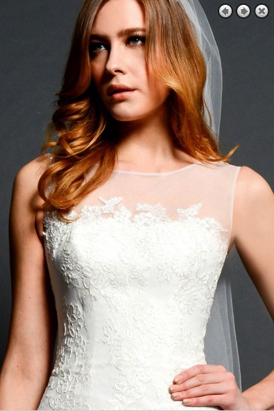 free shipping new fashion 2016 gown elegant dress Custom size Short lace  simple victorian style white wedding dress-in Wedding Dresses from Weddings  ... 00d12a4a41bb