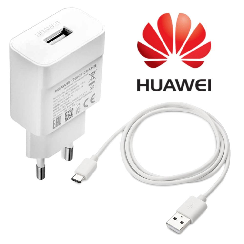 Original Huawei QC2.0 Schnelle Ladegerät 9V 2A EU stecker Usb 3.1 Typ-C kabel quick charge adapter für P20 lite P9 P10 Nova 3 smartphone