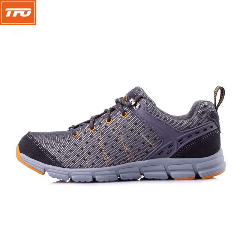 TFO running shoes men male jogging outdoor sport shoes sneakers male mesh breathable waterproof supper light profession 2017 apple brand men breathable air mesh running shoes weaving outdoor athletic zapatillas sport jogging sneakers walking shoes