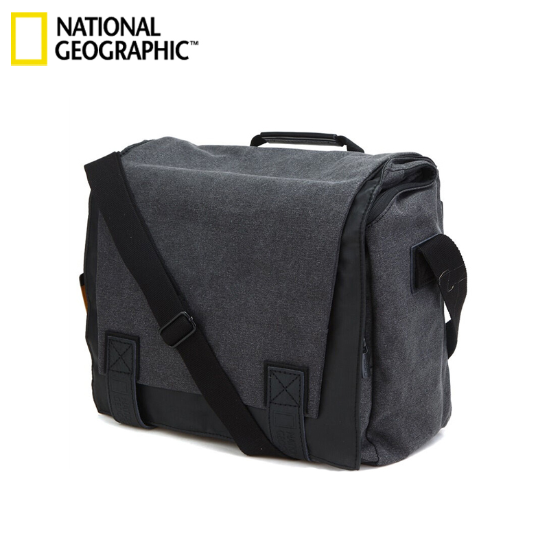 National Geographic NG W2161 DSLR Camera Bag Universal for Nikon SLR for canon SLR With Rain cover can put 14 inch laptop national geographic leather travel camera bag soft photography bag shoulder messenger bag for canon nikon digital slr laptop