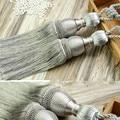 Ganchos para cortinas de pelota de tenis cortina titular decoración Pour salón colgante accesorios para cortinas borlas Tiebacks CP063-30