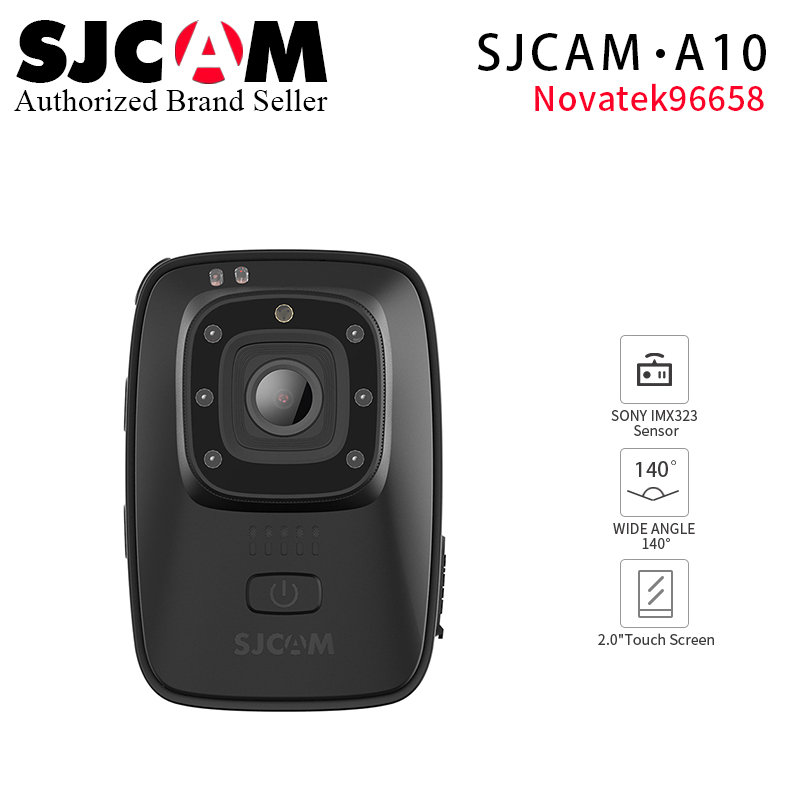 все цены на 2018 Original SJCAM A10 Body Camera Wearable Infrared Security Camera IR-Cut Night Vision Laser Positioning Action Camera онлайн