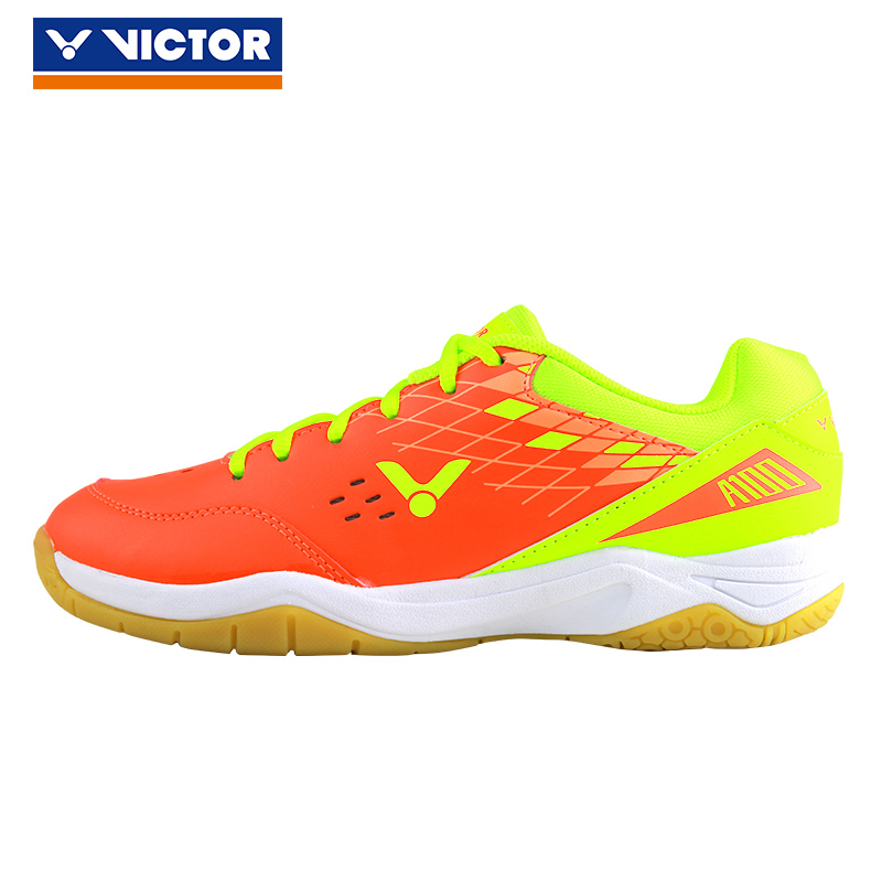 New Arrival Victor Badminton Shoes For Men Women Hard-wearing Athletic Gym Sneaker Anti-slippery Sport Tennis Shoe A100