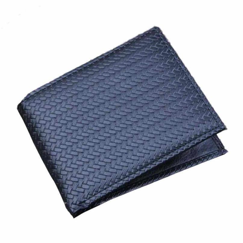 Maison Fabre Fashion Dompet Pria Bifold Bisnis Kulit Identitas Pemegang Kartu Kredit Dompet Saku 2017 Hot Dropshipping Dompet