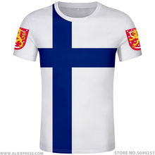 Camiseta de Finlandia con nombre personalizado, camiseta con número de fin, bandera de la Nación, ropa de país con impresión de suomi sueco finlandesa