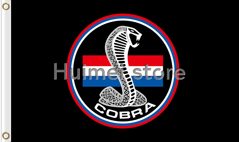 US $6 9 |Cobra flag Black cobra cars banner 3x5 flags for car racing -in  Flags, Banners & Accessories from Home & Garden on Aliexpress com | Alibaba