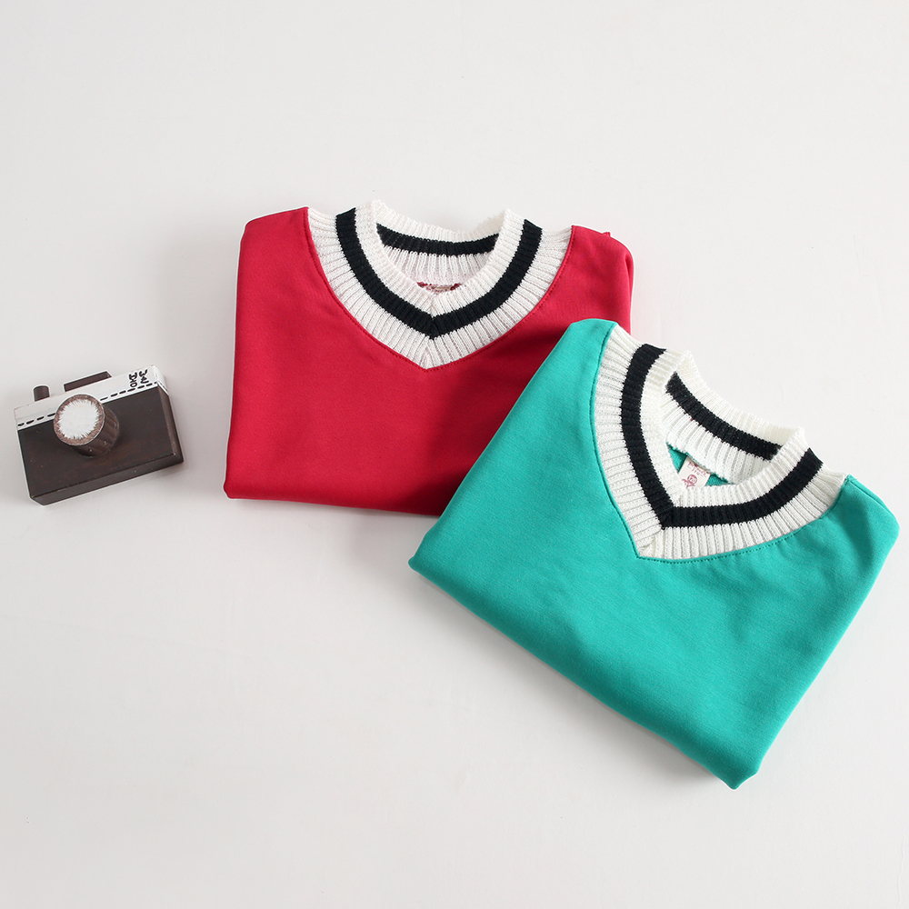 2018 spring new children clothing hoodies girl child long sleeve casual solid hoodies kids cloth