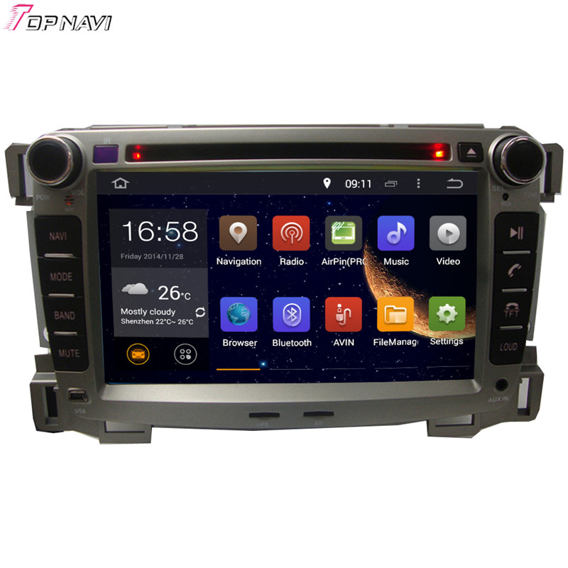 Topnavi 7'' Octa Core 4GB RAM Android 6.0 Car Radio Stereo GPS for SAIL 2009 For CHEVROLET Audio DVD Player