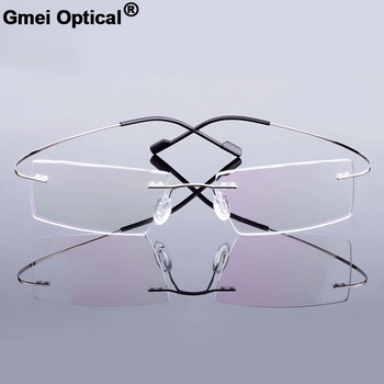 Gmei Optical Rimless Glasses