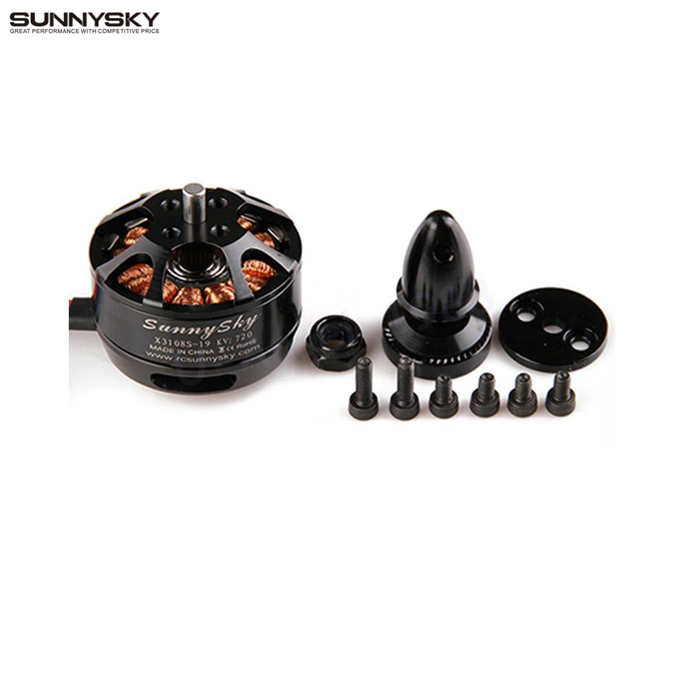 Free shipping SUNNYSKY X3108S 720KV 900KV 325W 22A/30S 1kg Brushless Motor Efficient Shaft Disk Motor for Multi rotor copter