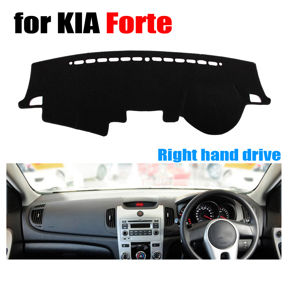 RKCA Car Dashboard Cover Mat For KIA Forte All The Years