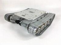 Wenhsin TS100 Metal Shock Absorber Tank Car Chassis Robot Smart car Unassemble Kits