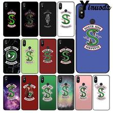 Yinuoda Riverdale South Side Serpents logo pattern Phone Accessories Case for Redmi 5 plus Note 5 Xiaomi Mi 6 8 8 SE Note 3(China)