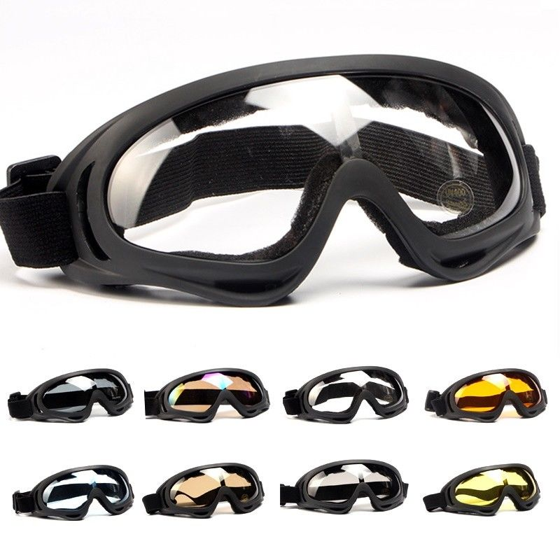 Military Tactical Goggles Glasses Airsoft Paintball Shooting Wargame Army Sunglasses Mens Motorcycle Motocross Windproof Glasses