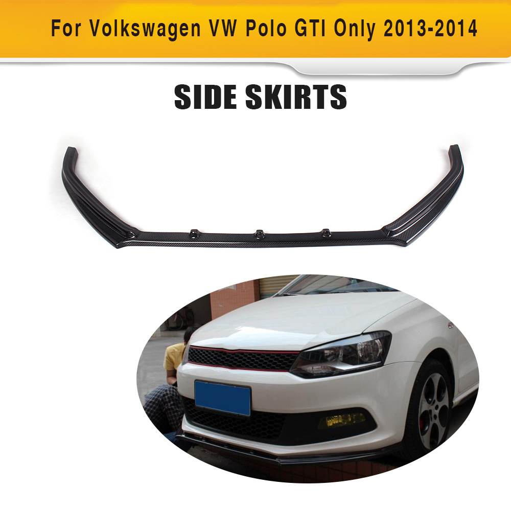 carbon fiber front lip chin spoiler apron for volkswagen. Black Bedroom Furniture Sets. Home Design Ideas