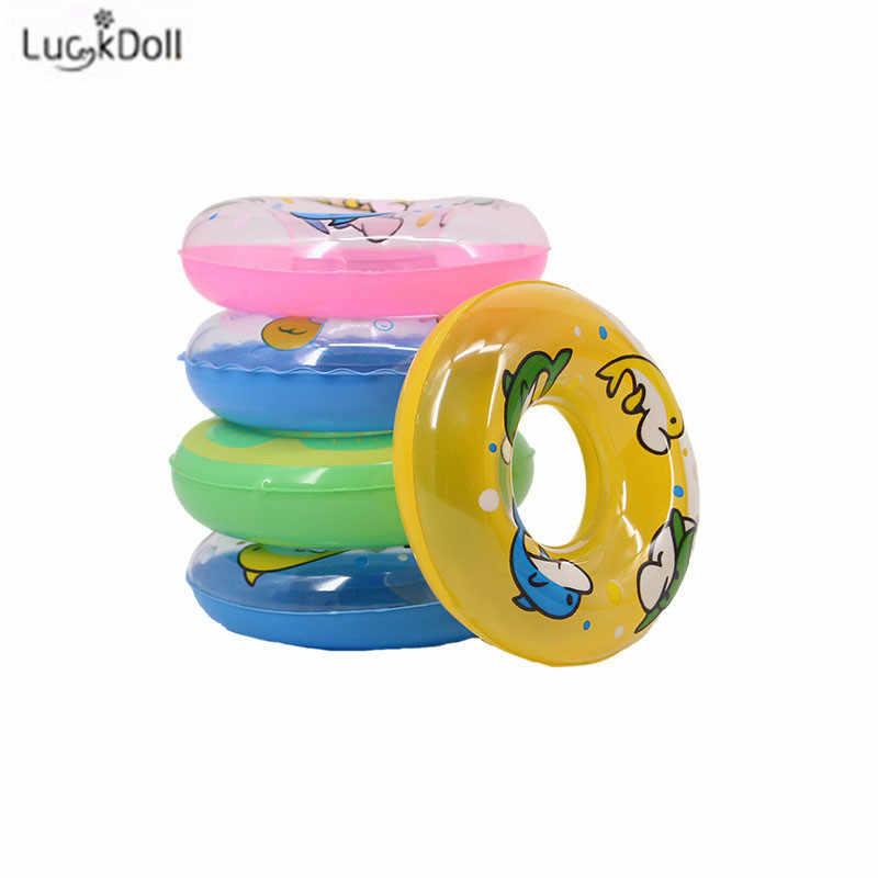 LUCKDOLL12 ชุดว่ายน้ำชายหาดชุดว่ายน้ำบิกินี่ว่ายน้ำ Lifebuoy Barbiees อุปกรณ์เสริม,ของเล่นสำหรับเด็ก,รุ่น,ของขวัญวันเกิด