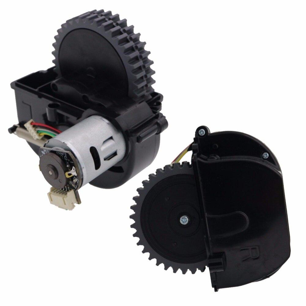 Original (Links + Rechts) rad für roboter-staubsauger ilife V3s pro V5s pro ilife V50 V55 Roboter-staubsauger Teile umfassen motor