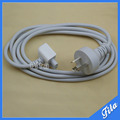 Free Shipping New Extension Cable For Macbook Charger 85W 60W 45W Magsafe Adapter Australian AU Standard Cord Plug 1.8m 6 feet